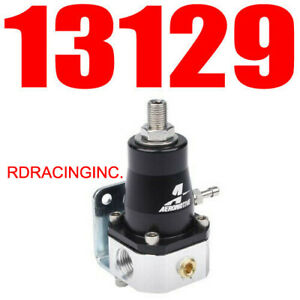 Aeromotive 13129 Efi Adjustable Fuel Pressure Bypass Regulator 30 70 Psi New