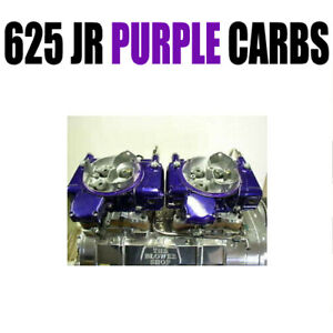 Barry Grant 625 Road Demon Jr Purple In line Blower Carbs 6282010vb 2