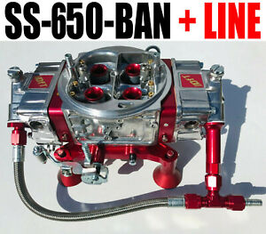 Quick Fuel Ss 650 ban Mech Blow Thru Annular With 6 Fuel Line Kit New