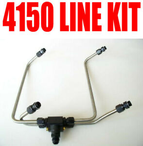 New Enderle Dual Fuel Line 4150 Line Kit For Holley Blower Carbs 40363m