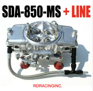 Sda 850 ms 850 Cfm Screamin Demon Carburetor Mech Secondaries Down Leg Line Kit