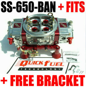 Quick Fuel Ss 650 Ban Gas 650 Mech Blow Through Annular 6 Fittings Free Csr 630