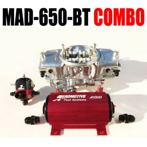 Mighty Demon Mad 650 Bt Annular Mechanical Blow Thru Carb Pump Reg Combo New