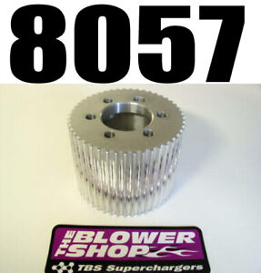 Blower Shop 8057 Cnc 57 Tooth 8mm Supercharger Drive Pulley