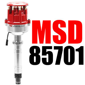 Msd 85701 Ignition Chevy Pro Billet Small Diameter Distributor New
