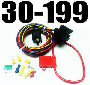 Quick Fuel 30 199 30 Amp Electric Fuel Pump Wiring Kit Fits Barry Grant