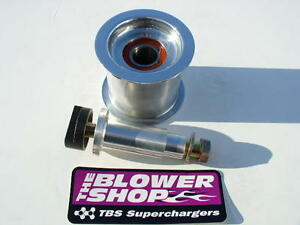 Blower Shop Supercharger 4 Dia Idler Pulley Assembly Kit 4100 4152 4150