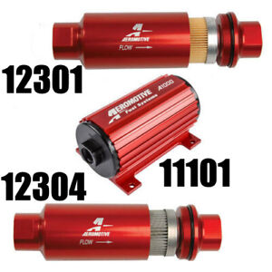Aeromotive 11101 12301 12304 A1000 Electric Fuel Pump Filter Combo Best Deal
