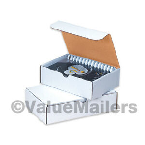 50 7 1 2 X 14 X 3 1 4 White Shipping Literature Mailer Box Catalog Packing Boxes