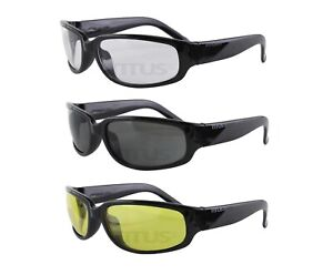 Titus G1 15 Bold Classic Safety Shooting Motorcycle Glasses Eye Protection Z87