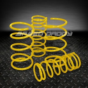 2 Drop Suspension Lowering Springs Fits 95 99 Nissan Maxima Gle Gxe A32 Yellow