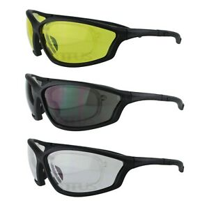 Titus Safety Glasses Shooting Motorcycle Protection Ansi Z87 W Rx able Insert