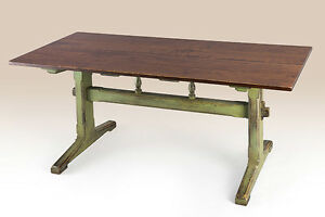 Primitive Kitchen Table Farm House Style Furniture American Made New 6ft X 36in