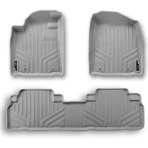 Maxfloormat Floor Mats For Honda Pilot 2009 2015 2 Row Set Grey