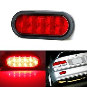 Jdm Style Red Lens 10 Led Rear Fog Light Kit For Acura Honda Nissan Mazda Subaru