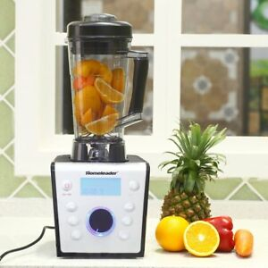 1x High Performance Pro Fruit Smoothie Blender Commercial Countertop Juice Mixer