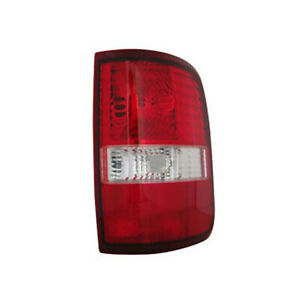 Fo2801182n Tail Lamp Passenger Side Fits 2004 08 Ford F150 Non Flare Side Model