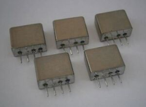 Lot Of 5 Mini Circuits Mcl Tfm 11 Frequency Mixer Level 7 1 2000 Mhz