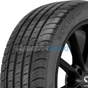 4 New 235 55 18 Kumho Solus Ta71 Ultra High Performance 600aa Tires 2355518