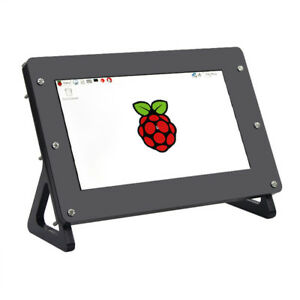 New 7 Inch Lcd Screen Display 1024x600 Driver Board Case For Raspberry Pi