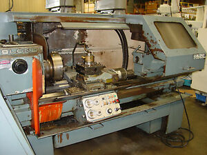 Leblond 19 Regal Cnc Lathe Ge Mark Century 1050 Fully Function With Video