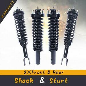 For 1996 2000 Honda Civic 4 Quick Complete Shocks Coil Spring Assemblies