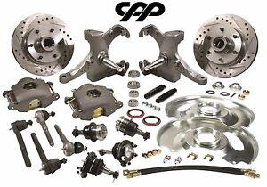 63 70 Chevy C10 Pickup Truck Drop Spindle Disc Brake Conversion Kit 6 Lug