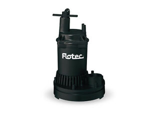 Flotec Water Removal Utility Pump 1 6 Hp Fp0s1250x 1200 Gph fp0s1250x 08