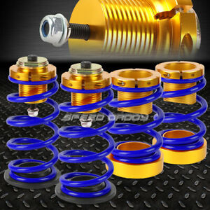 For 06 11 Honda Civic 1 4 Adjustable Blue Spring Coilover Suspension Lowering