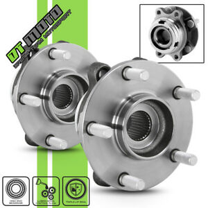 Pair 2 Front Wheel Hub Bearing Assembly For 2007 2012 Altima W Abs L4 2 5l