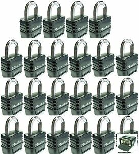 Combination Lock Set By Master 1178d lot 22 Resettable Weather Sealed Carbide
