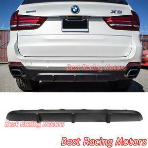 Performance Style Rear Bumper Diffuser Pp Fits 14 18 Bmw F15 X5
