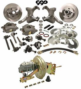 67 70 Chevy C10 Pickup Truck 5 Lug Drop Spindle Booster Conversion Kit