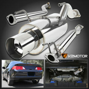 02 06 Acura Rsx N1 Base Catback Exhaust Muffler Tip System Kit Non Type S