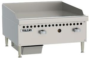 Vulcan Vcrg24 m Medium Duty 24 Manual Control Gas Griddle