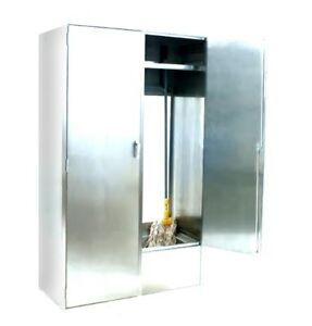 Eagle Group F1916 vscs d x Double Width Stainless Steel Mop Sink Cabinet