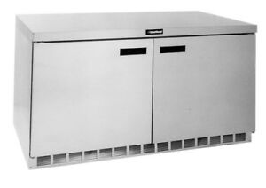 Delfield Gur60p s 20 2 Cu ft 4400 Series Commercial Undercounter Refrigerator