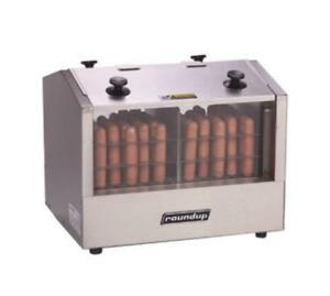 Hot Dog Hutch Holds 33 Hot Dogs 20 Buns Stainless Steel