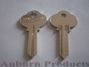 S4 Sargent Key Blank 50 Key Blanks Nickel Plate Free Shipping