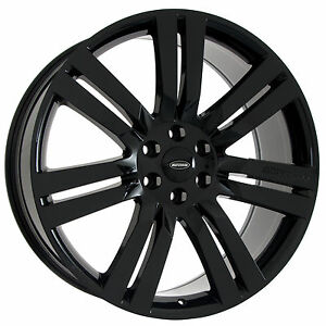 Set Of 24 Gloss Black Ford F150 Wheel Rims Marcellino Concept Fits Lincoln