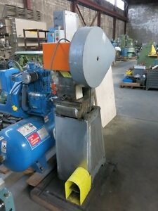 Rousselle 5 Ton Stamping Press With Numbering Head 110v