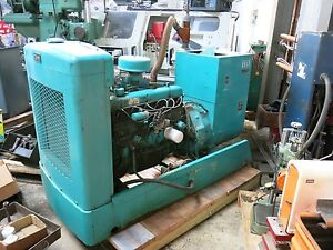 Onan 30kw Generator With A Ford 6 Cylinder Natural Gas Engine Only 239 Hrs