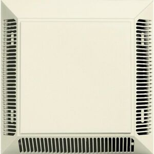 Builders Edge Polypropylene Exhaust Vent Fan Bathroom Kitchen Ventilation System