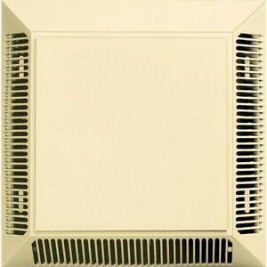 Builders Edge Polypropylene Exhaust Vent Fan With Full Fiberglass Screening New