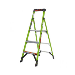 Little Giant 15388 001 Mightylite M8 Type Iaa 375 Lb Rated Fiberglass Stepladder