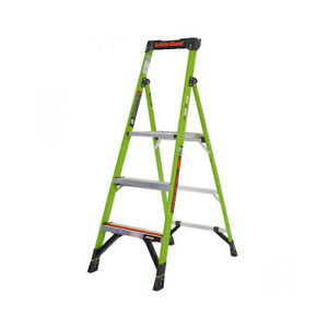 Little Giant 15386 001 Mightylite M6 Type Iaa 375 Lb Rated Fiberglass Stepladder