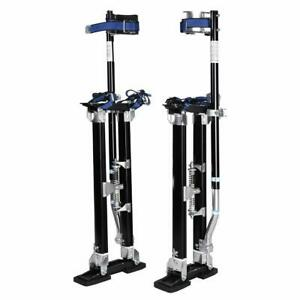 Black 24 40 Inch Drywall Stilts Aluminum Tool Stilt For Painting Painter Walk