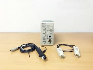 Tektronix Tcpa300 Amplifier Ac dc Current Probe W Tcp305 Tekprobe 012 1605 00