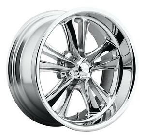 Cpp Foose F097 Knuckle Wheels Rims 17x7 5x4 5 1 Offset Chrome