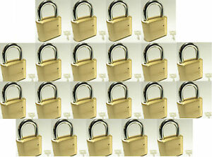 Lock Brass Master Combination 175 lot 21 4 Dial Resettable High Security